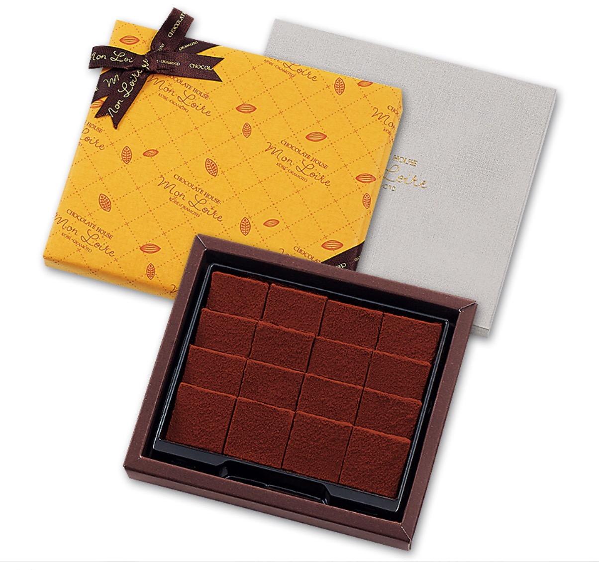 オリジナル生チョコレート 秋の限定風味!