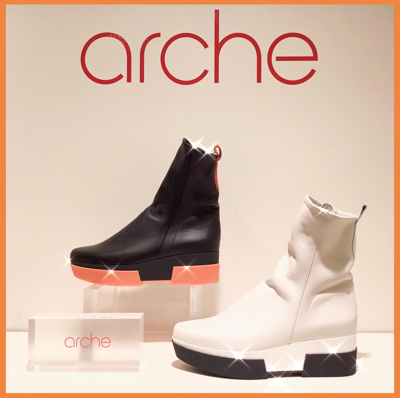 arche シンプルな 美脚フレンチスタイルブーツ♬
