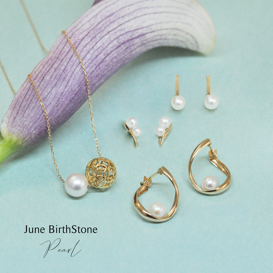 【TAKE-UP】6月𖤐お誕生石『パール』