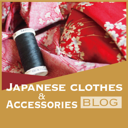 JAPANESE CLOTHES & ACCESSORIES BLOG