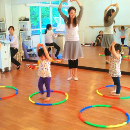 「幼児のためのバレエリトミック教室」 10月