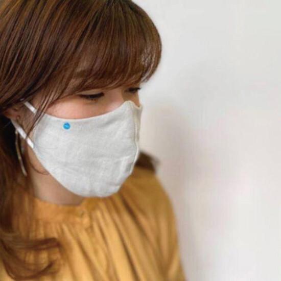 DR.C医薬のハイドロ銀チタン®マスク  繰り返し使って洗える ソフトガーゼ立体マスク 登場!