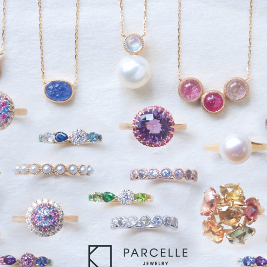 PARCELLE JEWELRY 夏の新作ジュエリーとカスタムジュエリーフェア