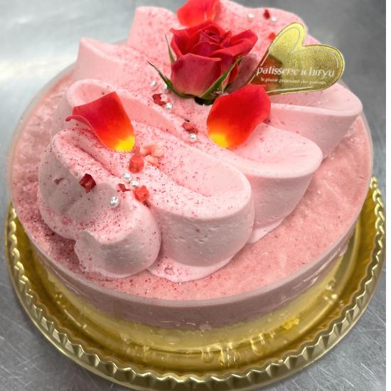 限定!苺のレアチーズケーキ