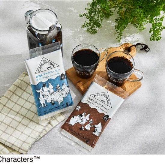 簡単便利‼️1日楽しめる「ムーミン水出しコーヒー」🌈