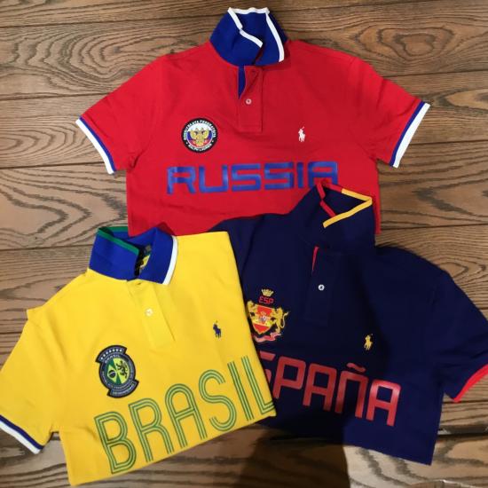 ポロシャツを着て、オリンピックを応援しよう