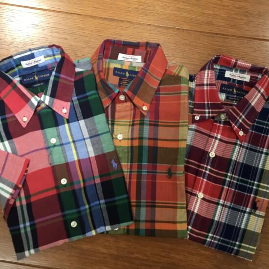 夏におすすめインド綿の半袖シャツ