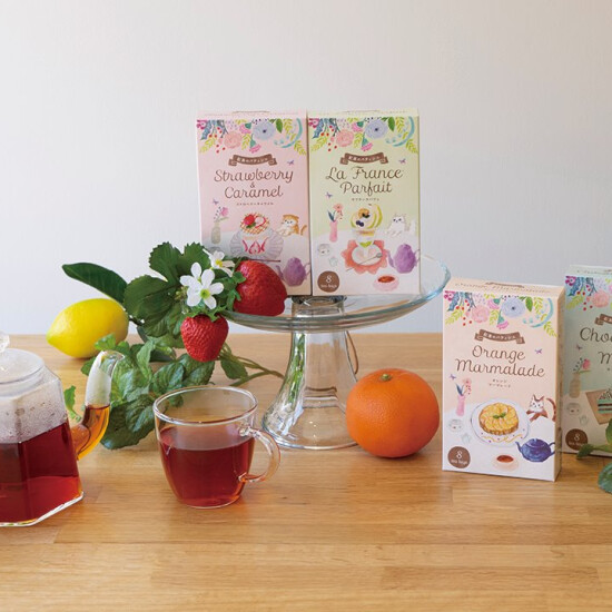 【生活の木】10/6より新発売 まるでお菓子な紅茶できました♪