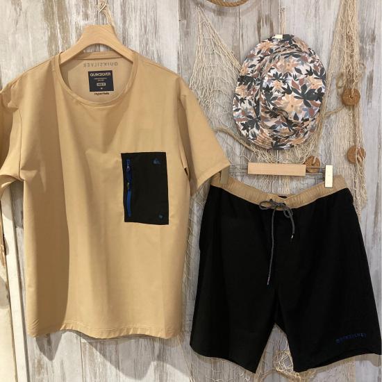 クイックシルバー☆夏のTシャツ